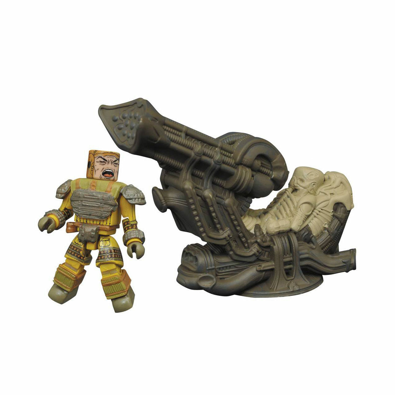 Aliens Minimates Space Jockey Deluxe Play Set