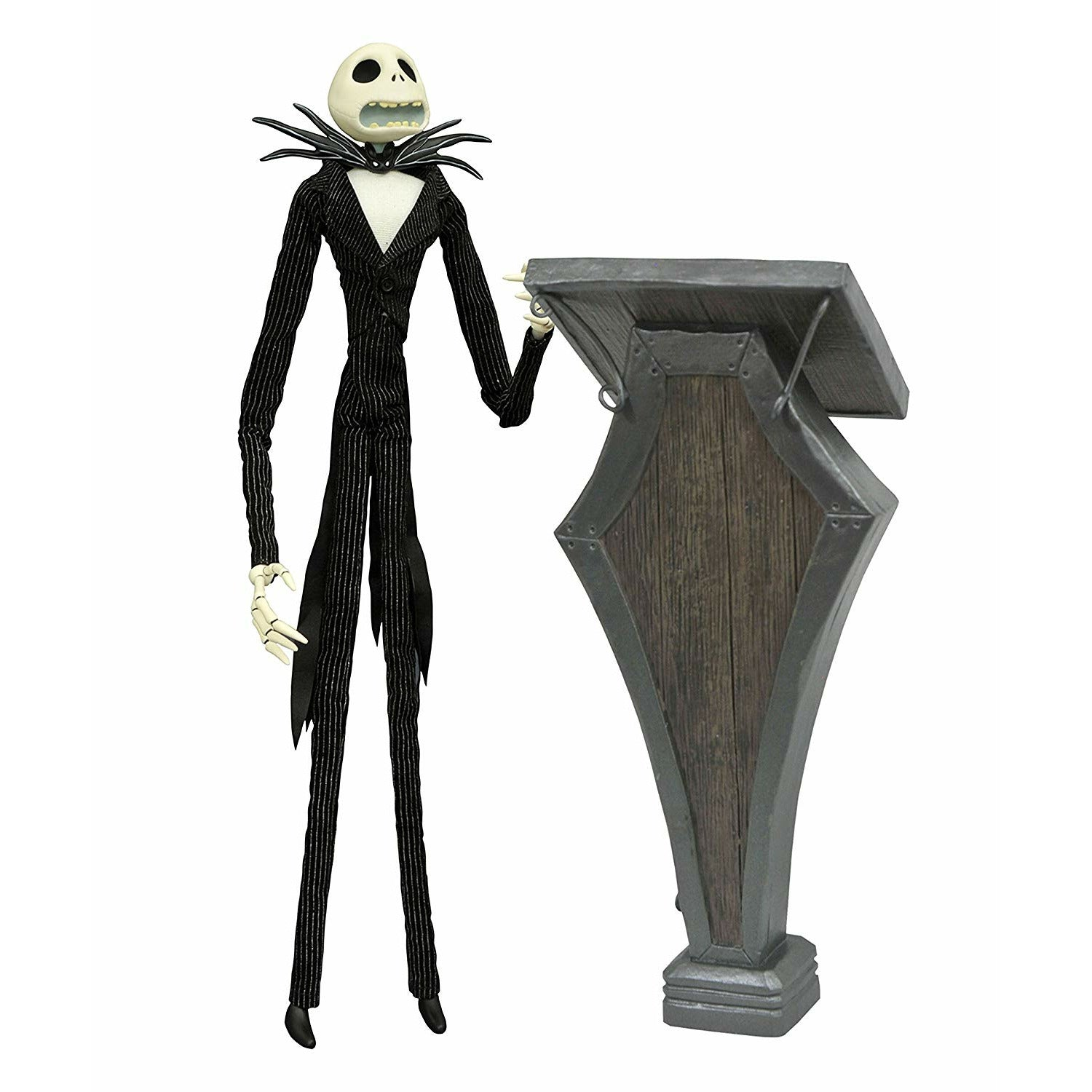 The Nightmare Before Christmas Podium Jack 14 inch Deluxe Coffin Doll
