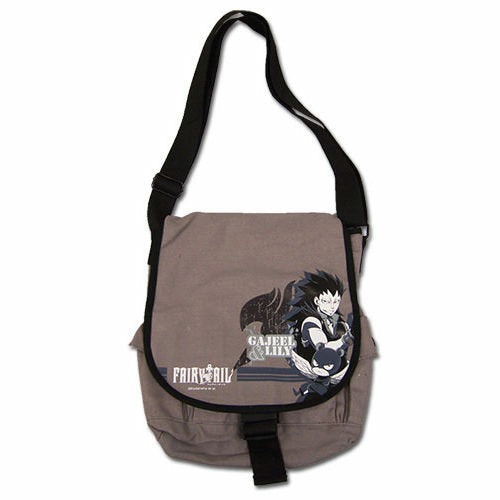 Fairy Tail Gajeel & Lili Messenger Bag