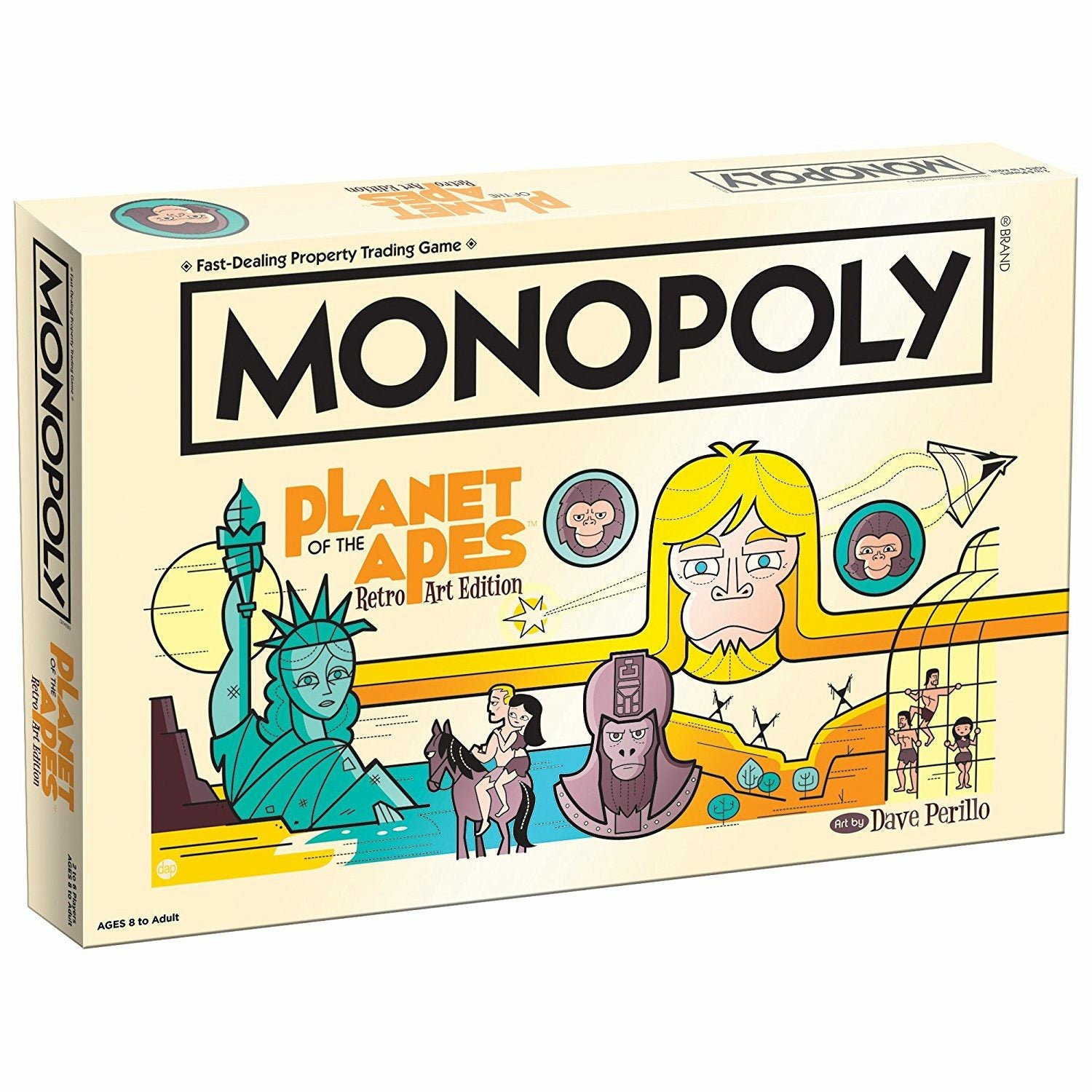 Planet of the Apes Retro Edition Monopoly Board Game
