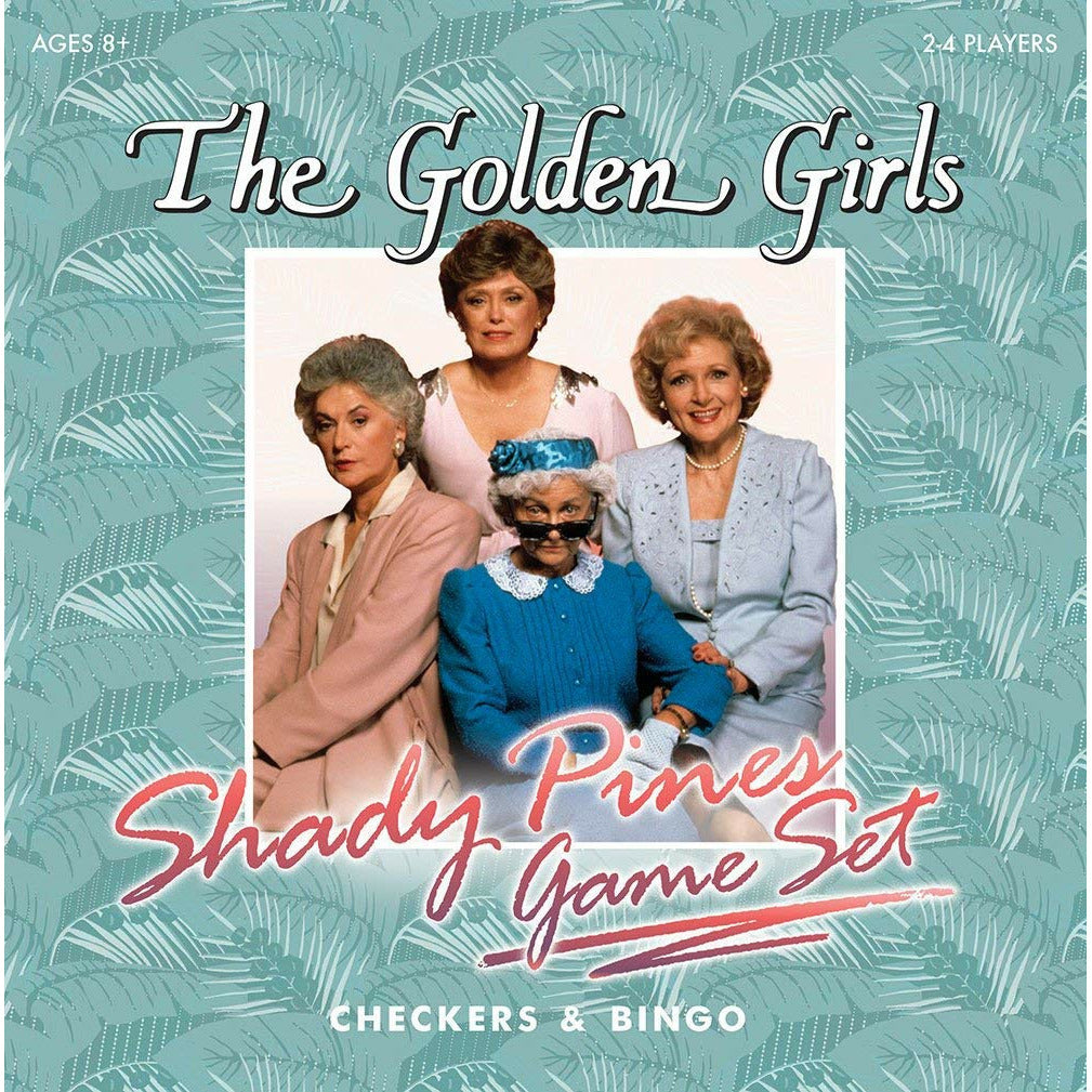 The Golden Girls Edition Checkers & Bingo Set