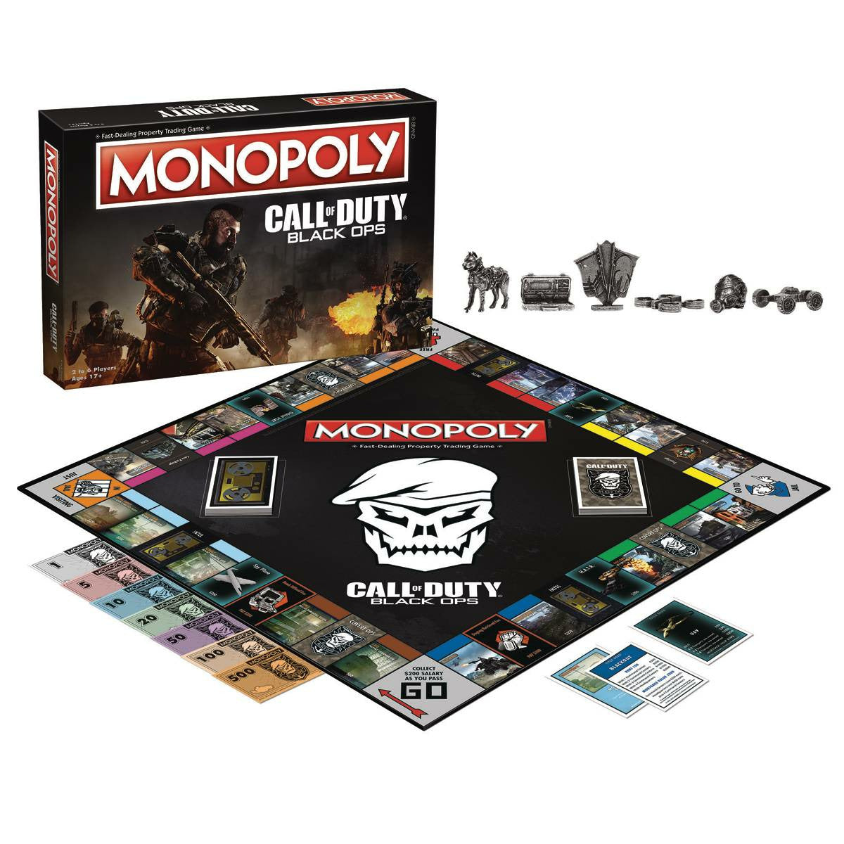 Call of Duty: Black Ops Edition Monopoly Board Game
