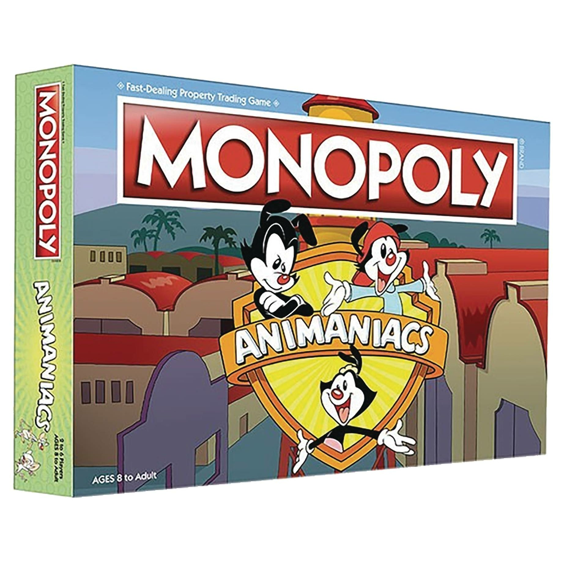 Animaniacs Monopoly Board Game