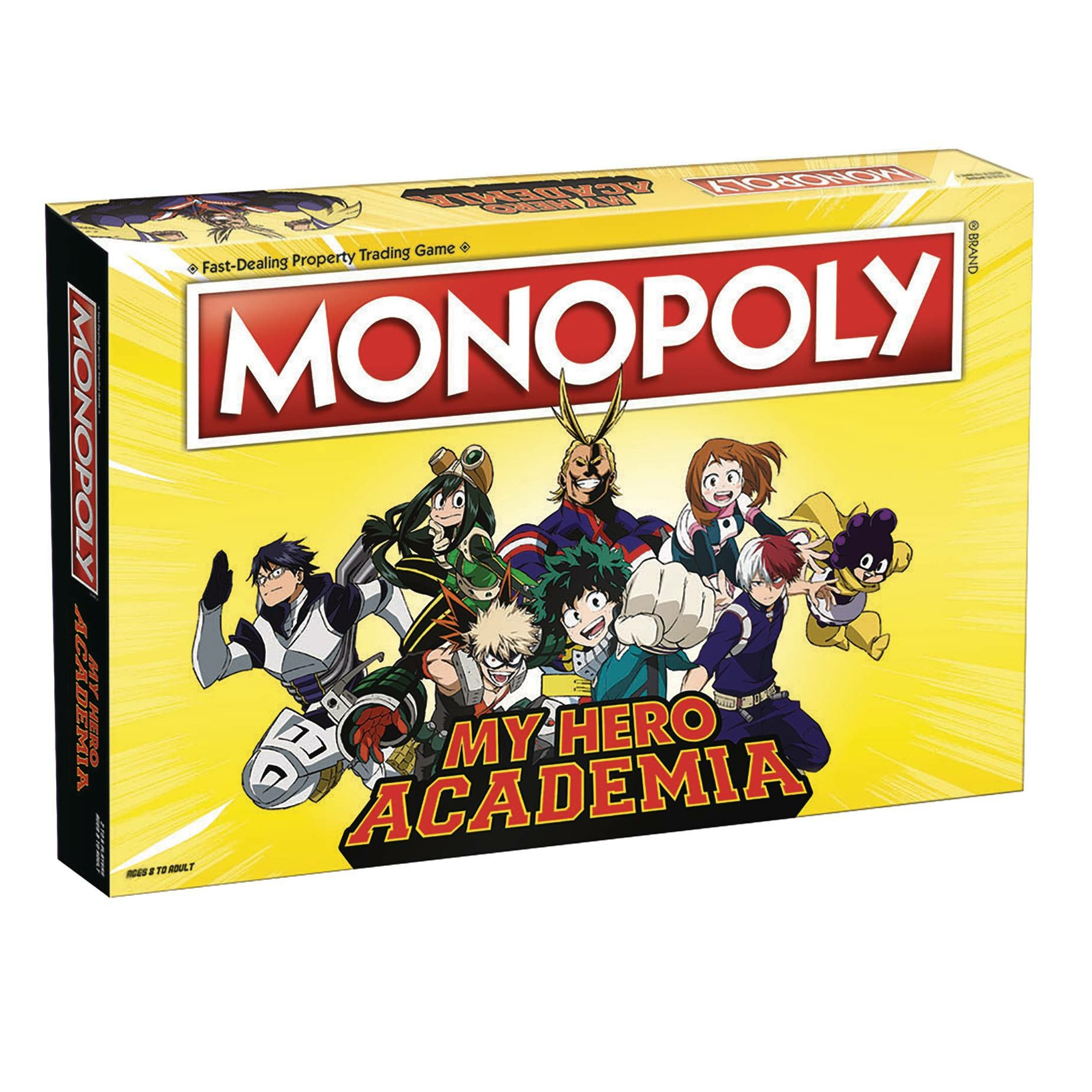 My Hero Academia Monopoly Board Game