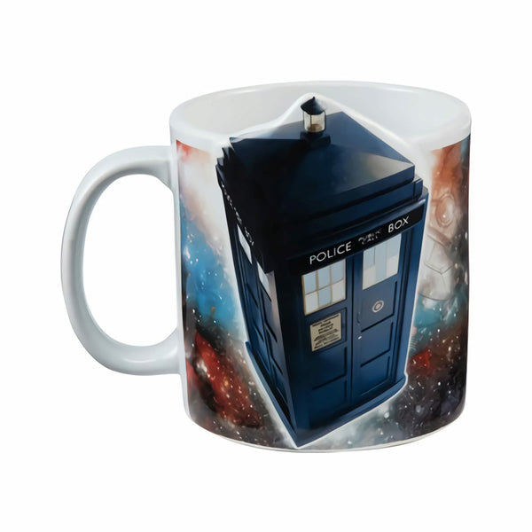 Doctor Who 3D Tardis 20 oz Ceramic Mug