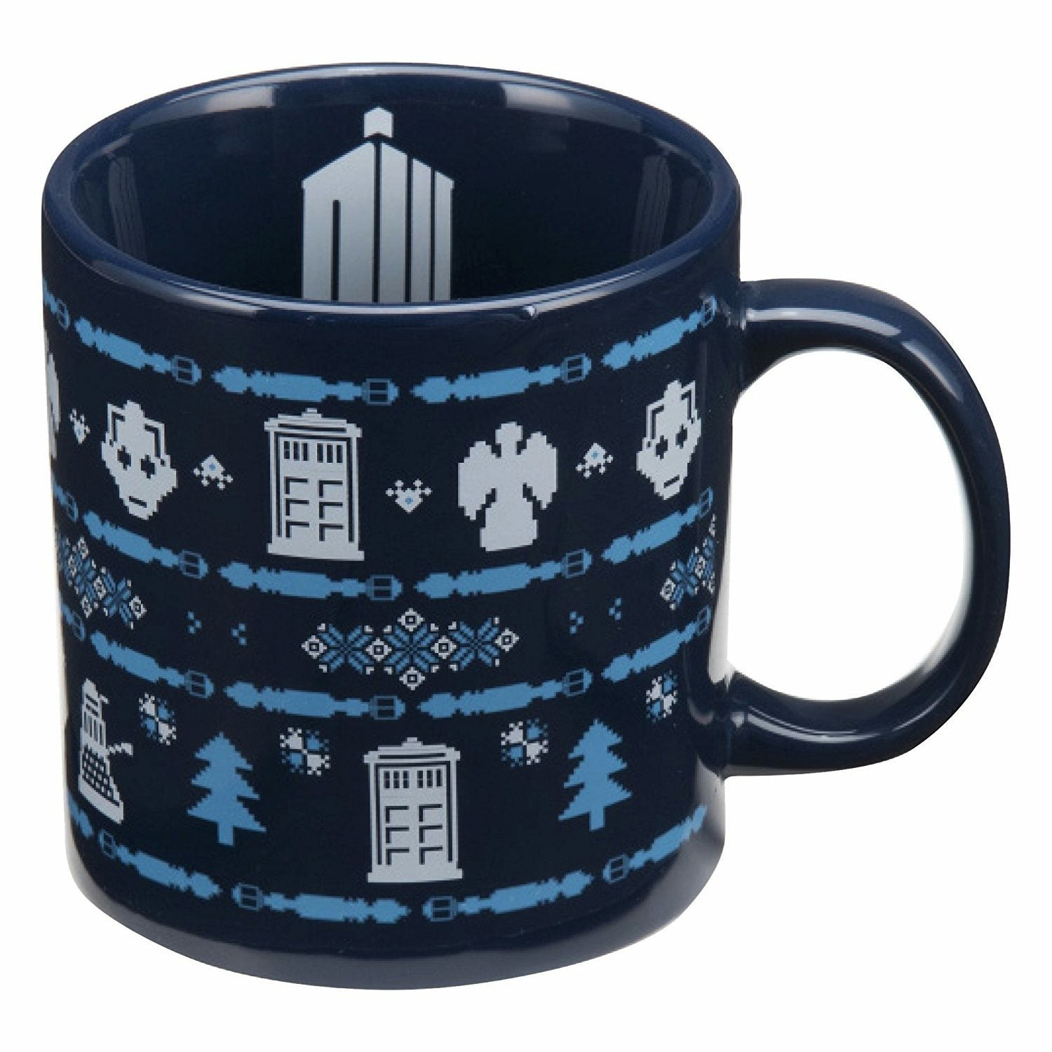 Doctor Who Ugly Sweater 20 oz Ceramic Mug