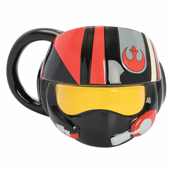 Star Wars: The Last Jedi Resistance Helmet Premium Sculpted Ceramic Mug