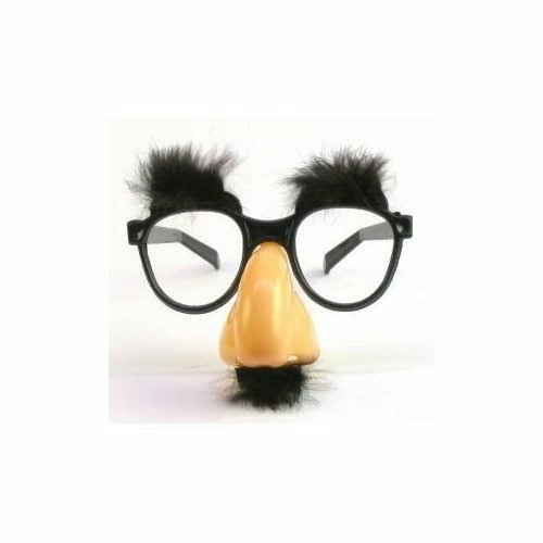 Classic Disguise Fuzzy Nose & Glasses
