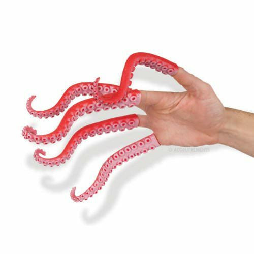 Tentacles Finger Puppets (1 Piece)