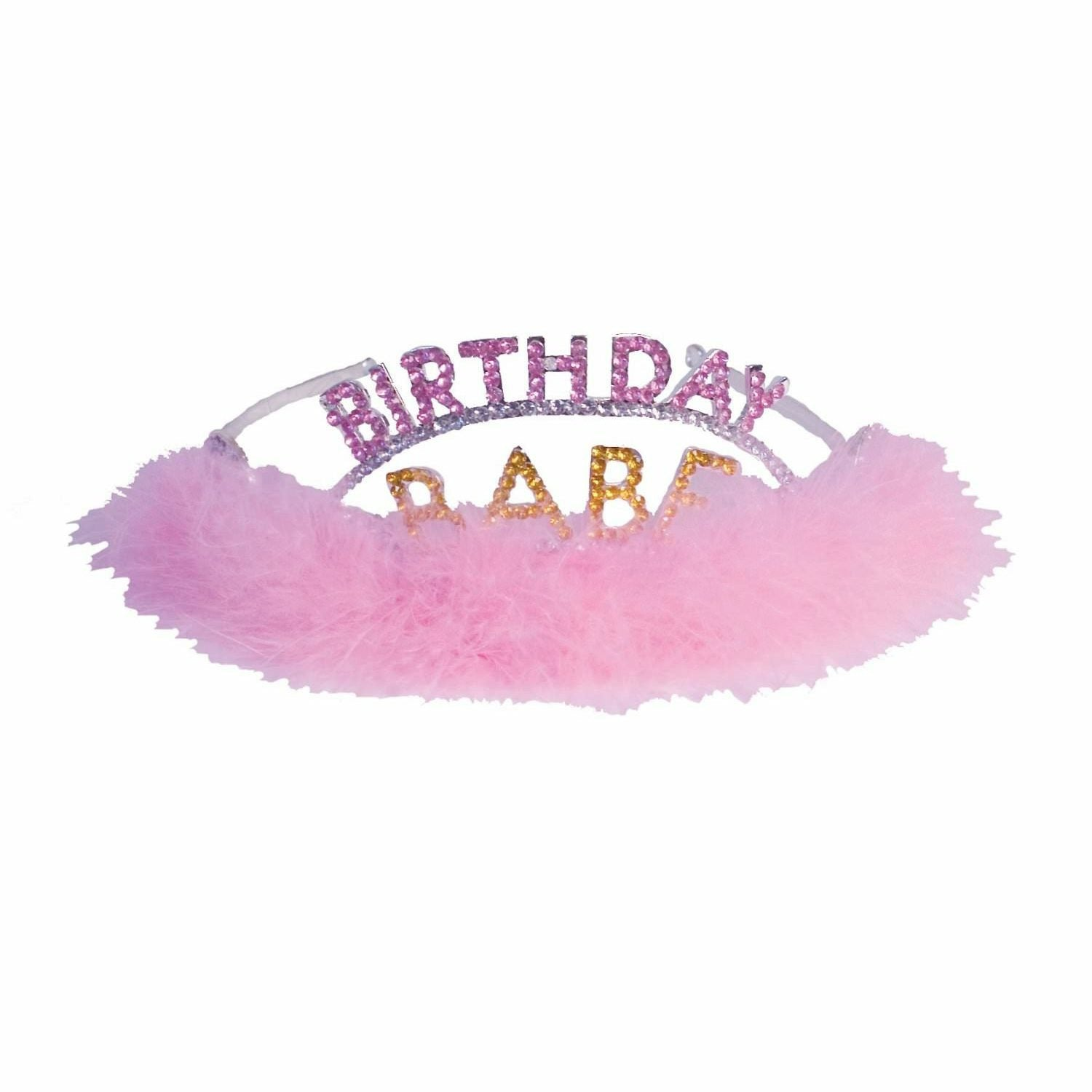 Laid Back Tickled To Be The Birthday Babe Tiara