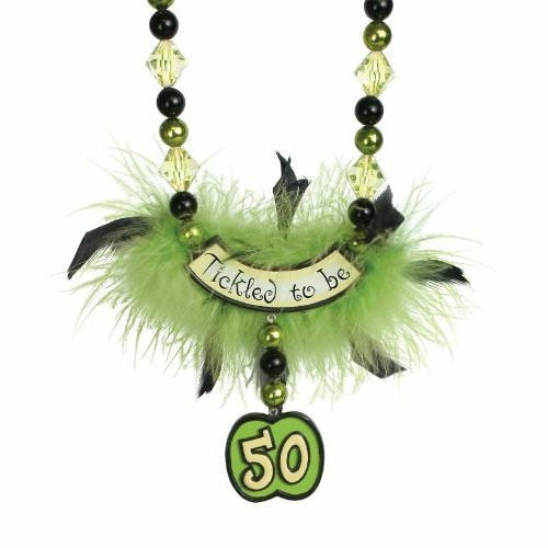 Laid Back Tickled To Be 50 Birthday Party Beads