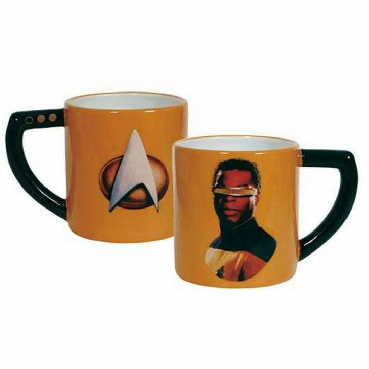 Star Trek Geordi La Forge Mug