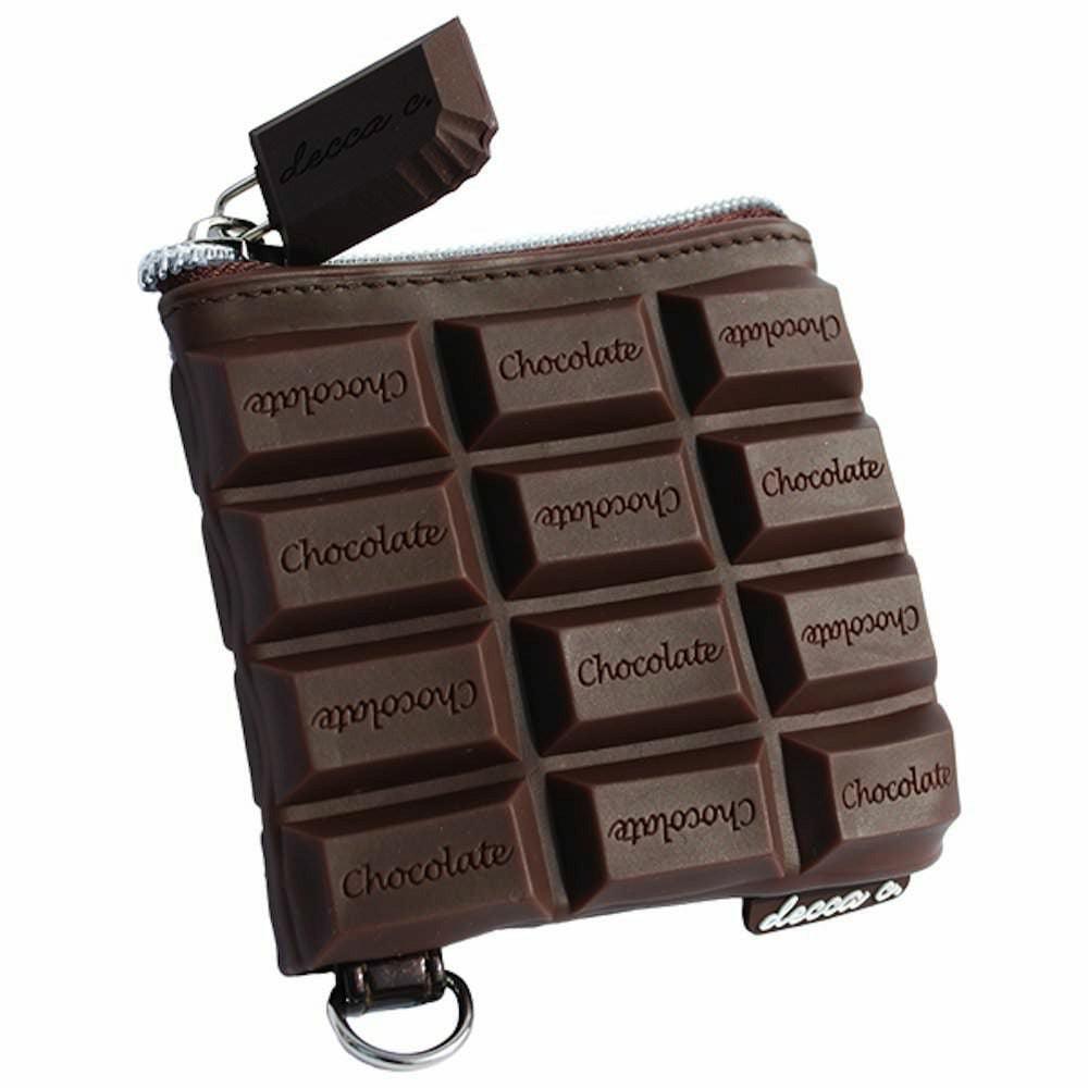 Chocolate Candy Bar Scented Coin Purse