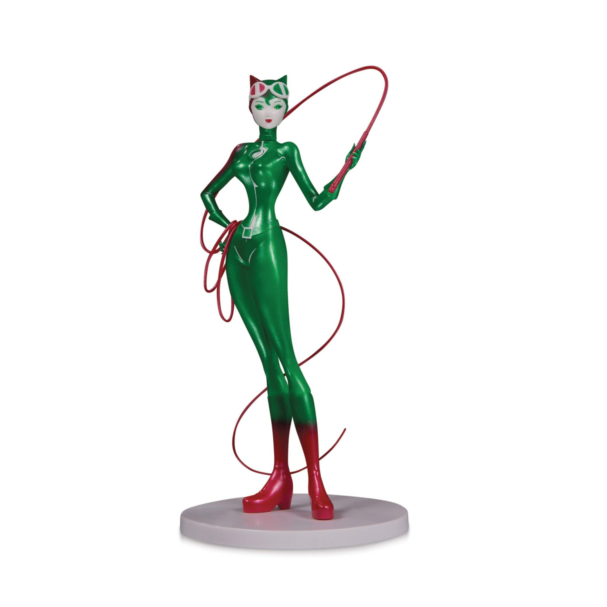 DC Artists Alley Catwoman Holiday Variant PVC Figure By Sho Murase