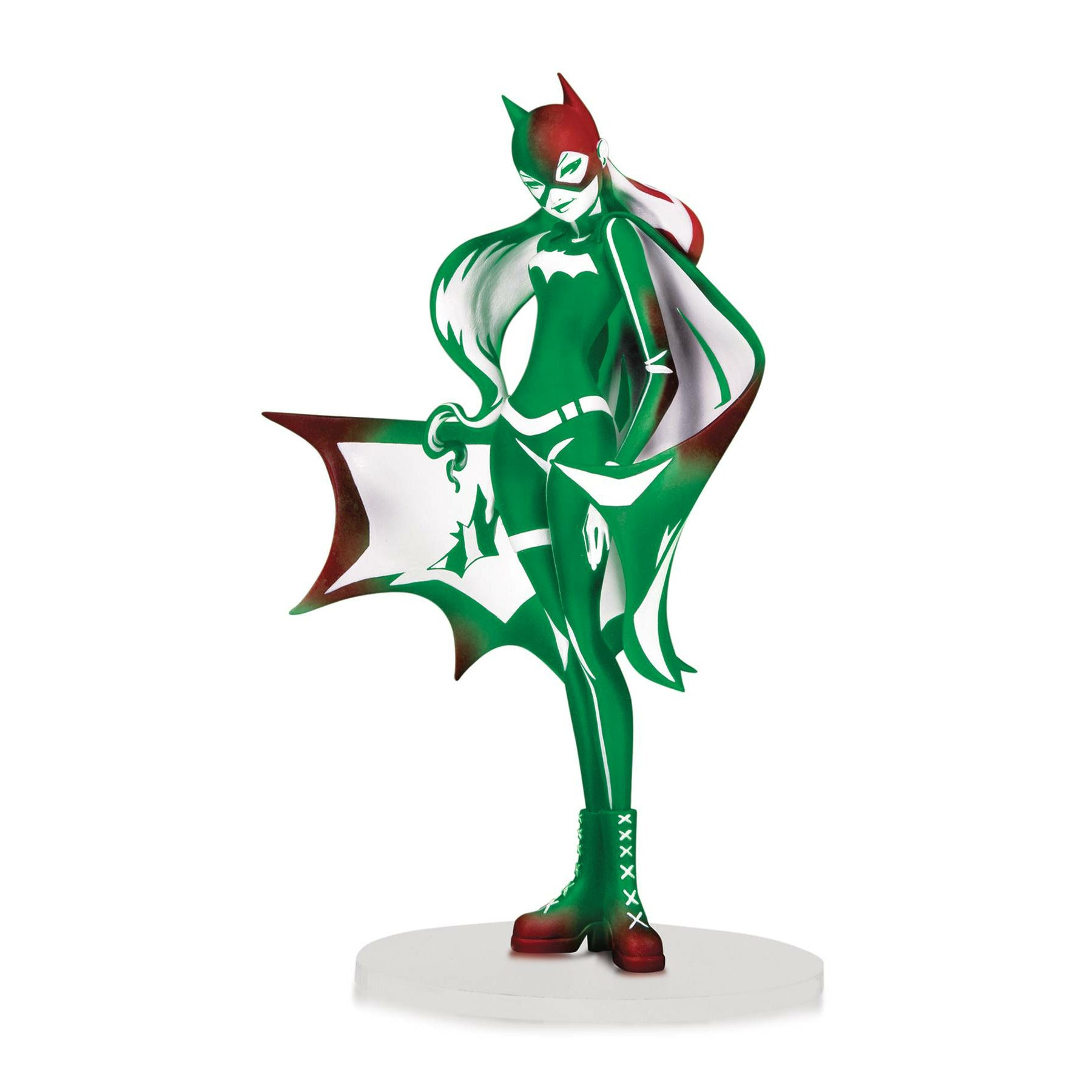 DC Artists Alley Batgirl Holiday Variant PVC Figure By Sho Murase