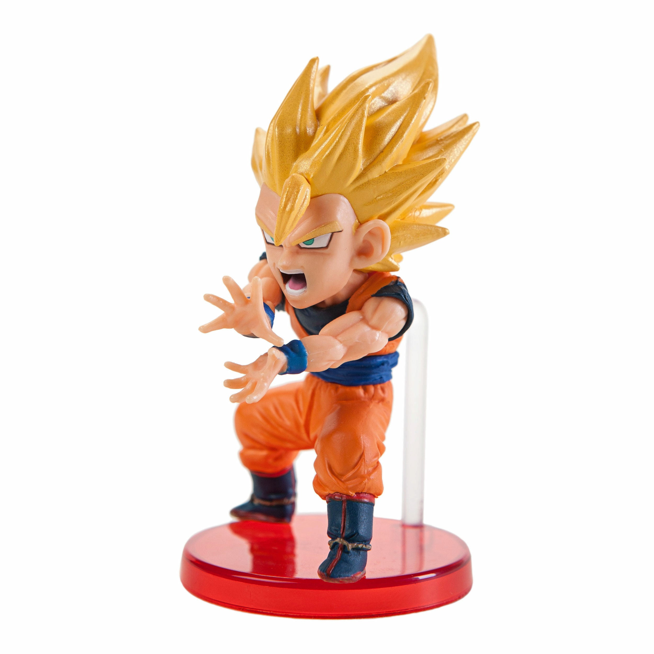 Dragon Ball Z WCF Battle of Saiyans Vol. 4 Super Saiyan 2 Goku PVC Mini Figure