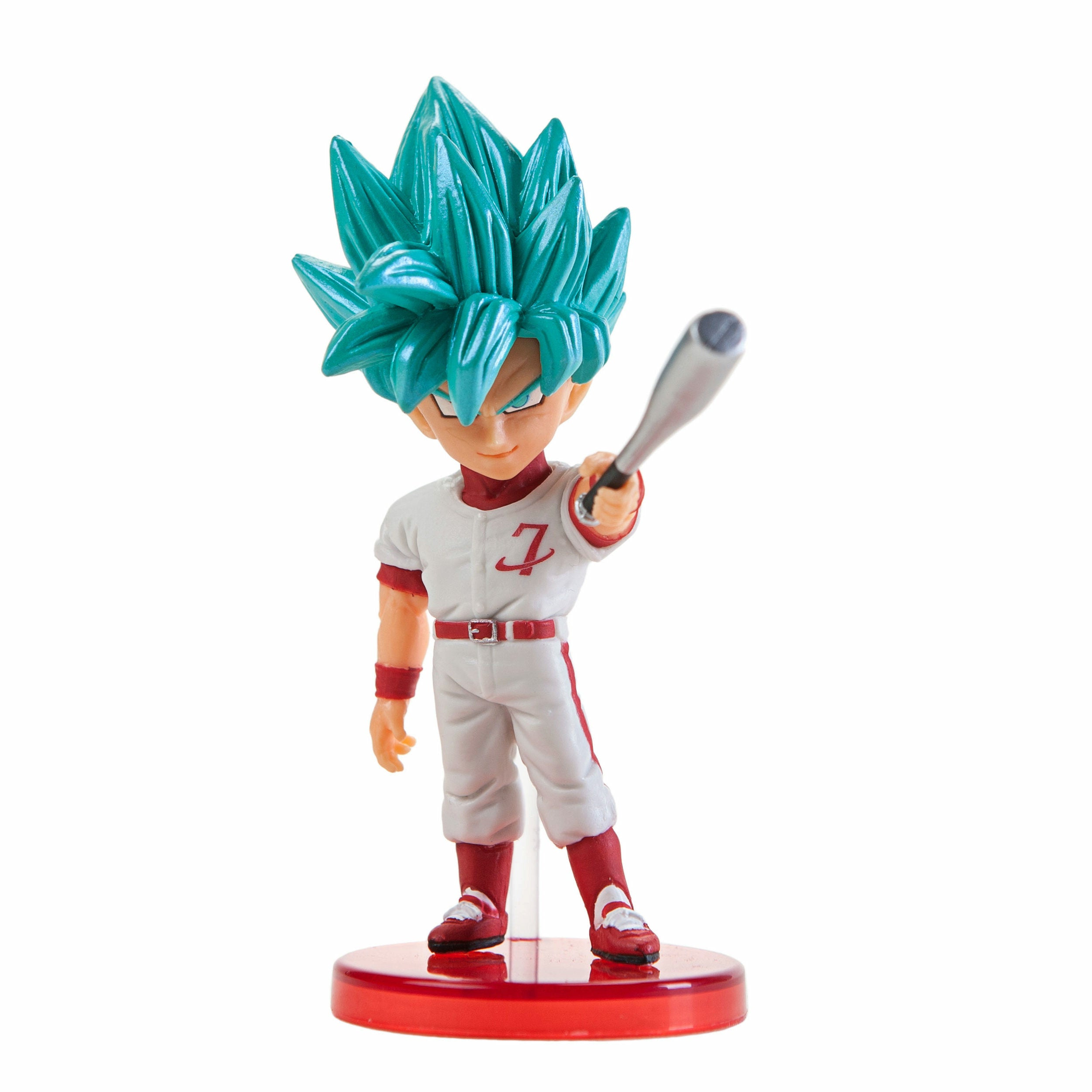 Dragon Ball Super WCF Vol. 8 SSJ God SS Goku PVC Mini Figure