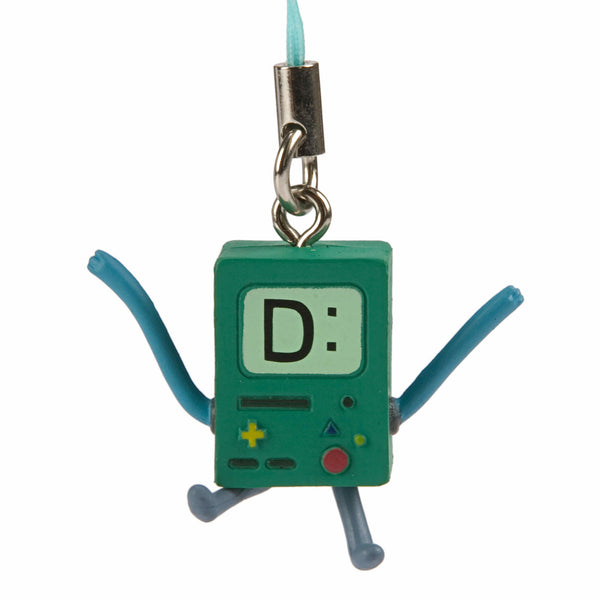 Adventure Time Beemo BMO Sad Capsule Figure Smartphone Strap