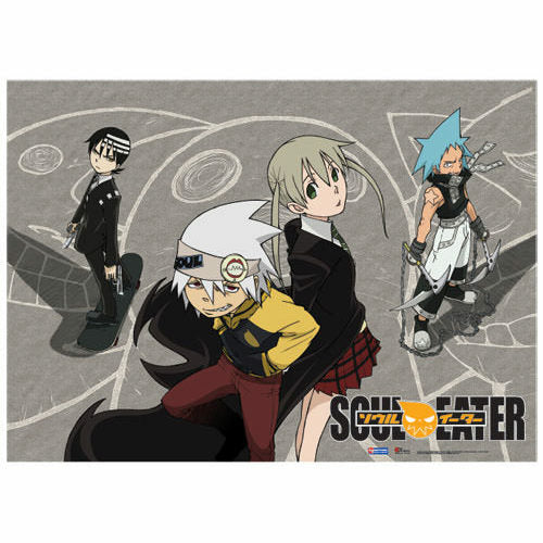 Soul Eater Play Groud Fabric Poster