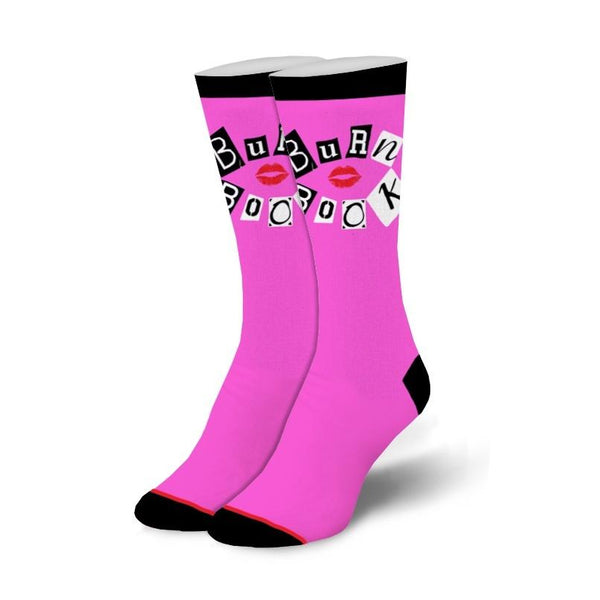 Burn Book Women's Crew Socks