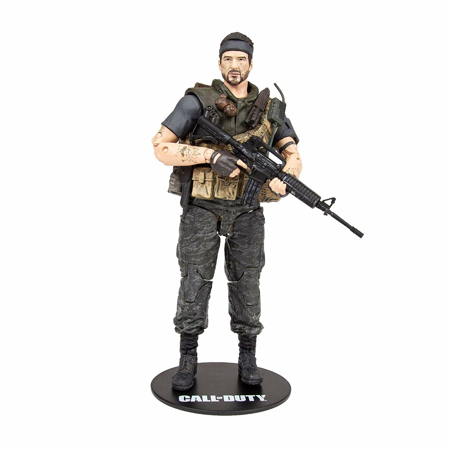 Call of Duty 2 Frank Woods 7 inch Action Figure