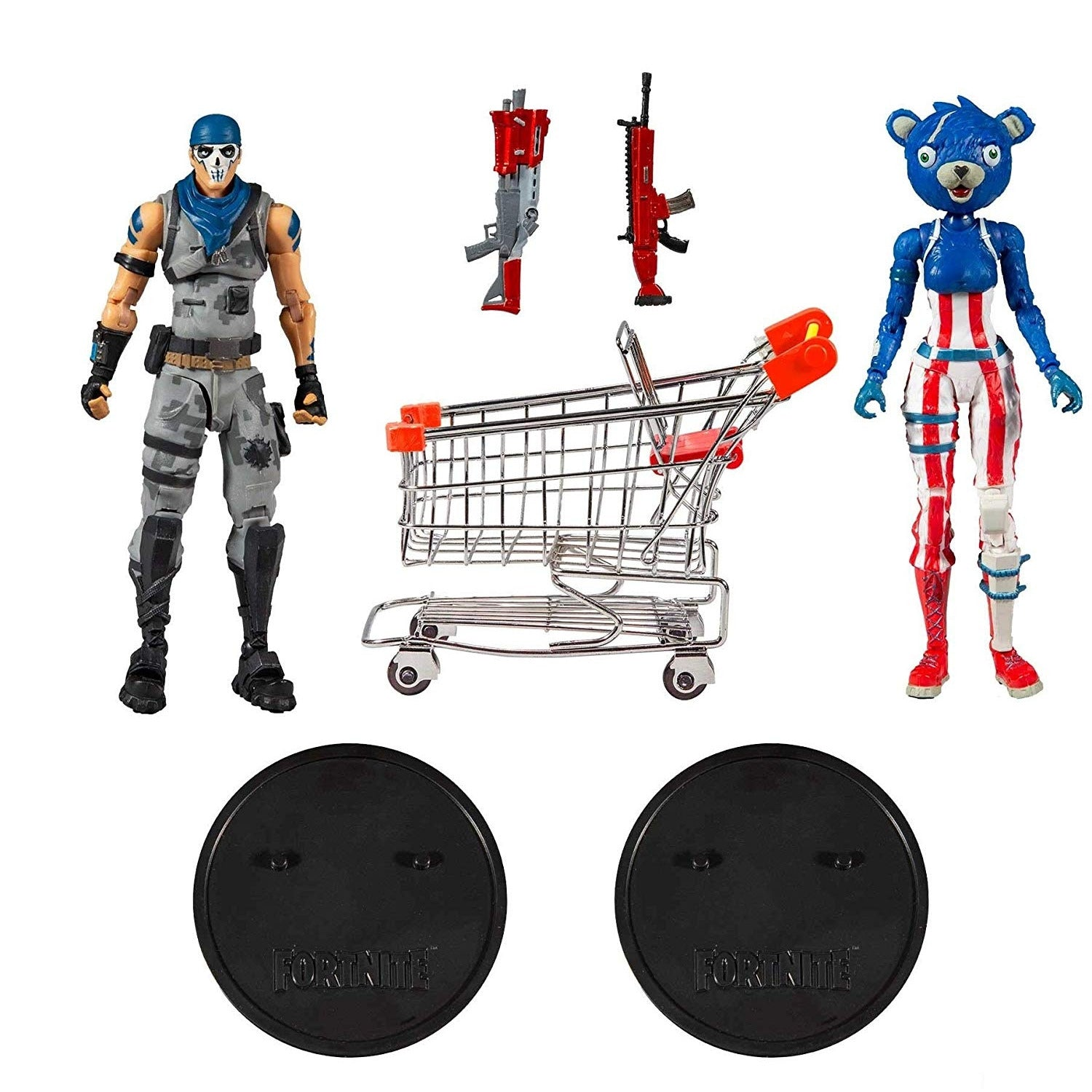 Fortnite Shopping Cart Action Figure Set