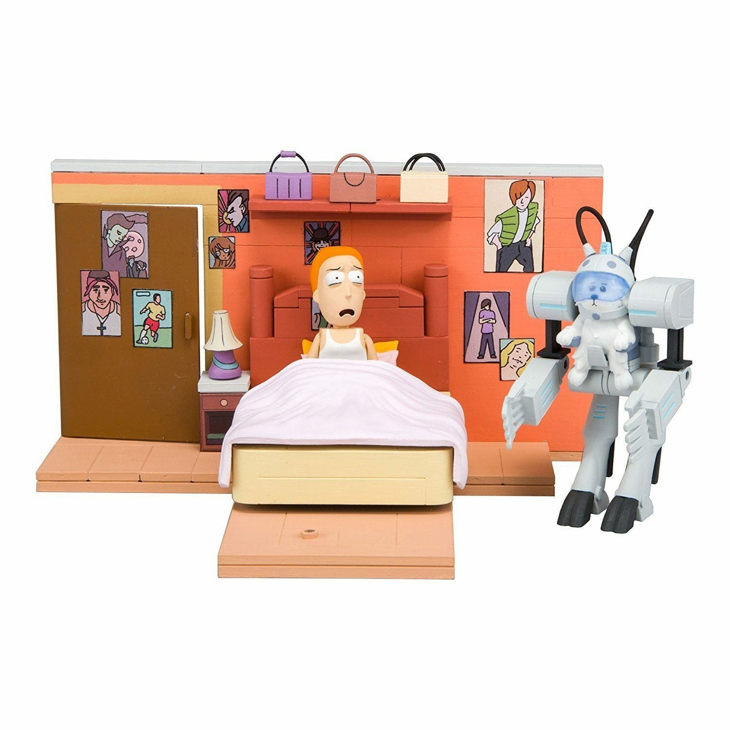 Rick and Morty You Shall Now Call Me Snowball Building Set