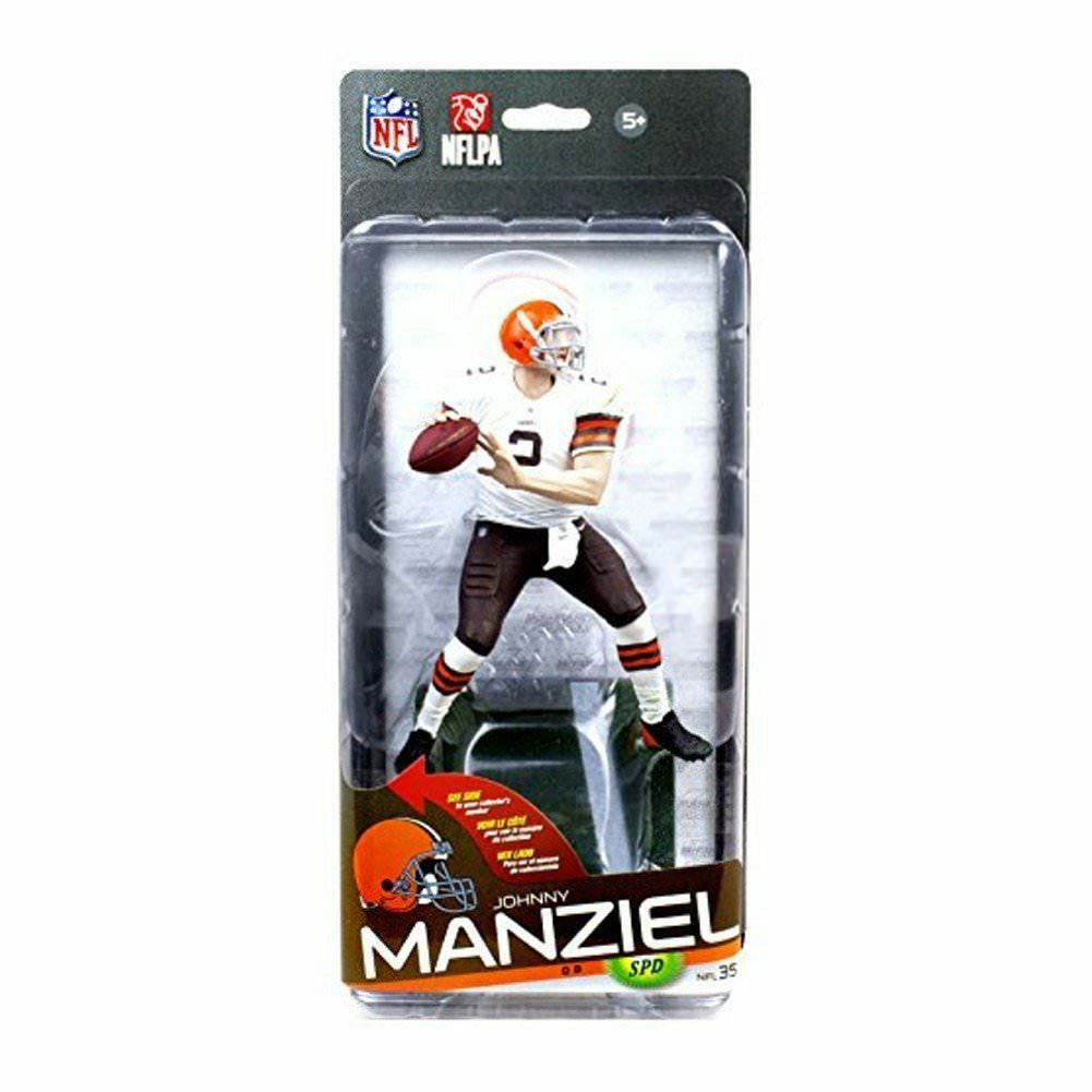 McFarlane Toys NFL Series 35 Johnny Manziel Action Figure - Bronze Variant