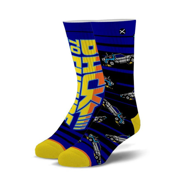 Back To The Future 88 MPH Mens' Crew Socks
