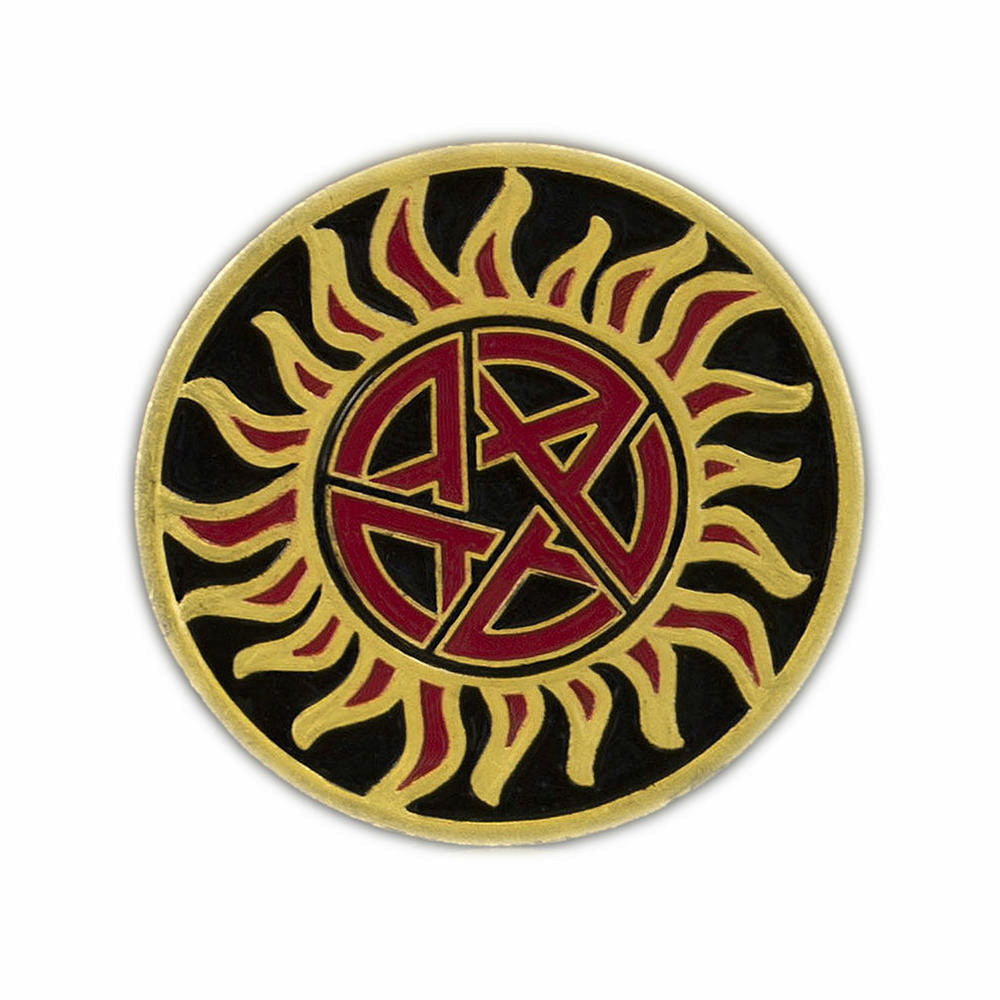 Supernatural The Essential Hunters Challenge Coin