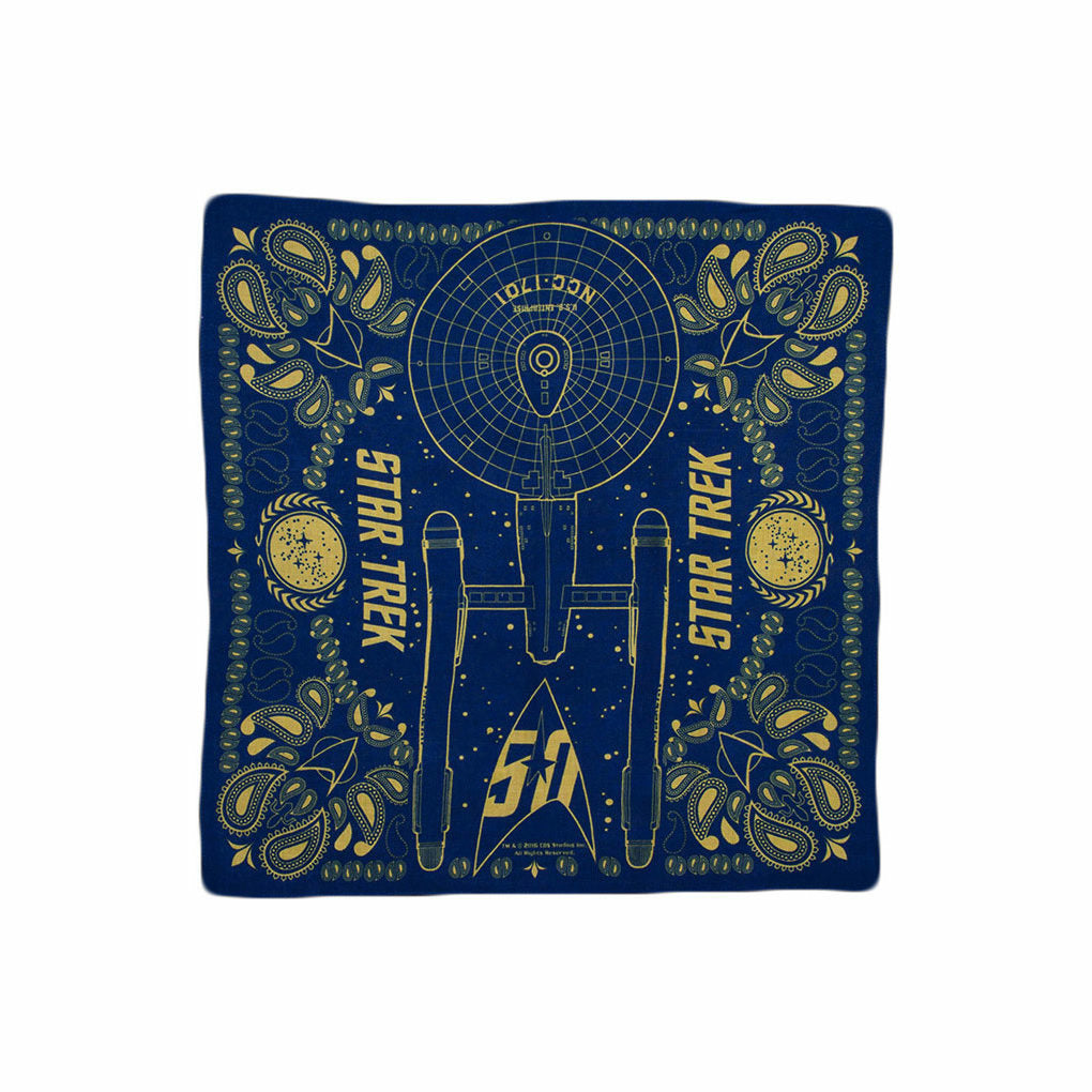 Star Trek 50th Anniversary Edition Bandana
