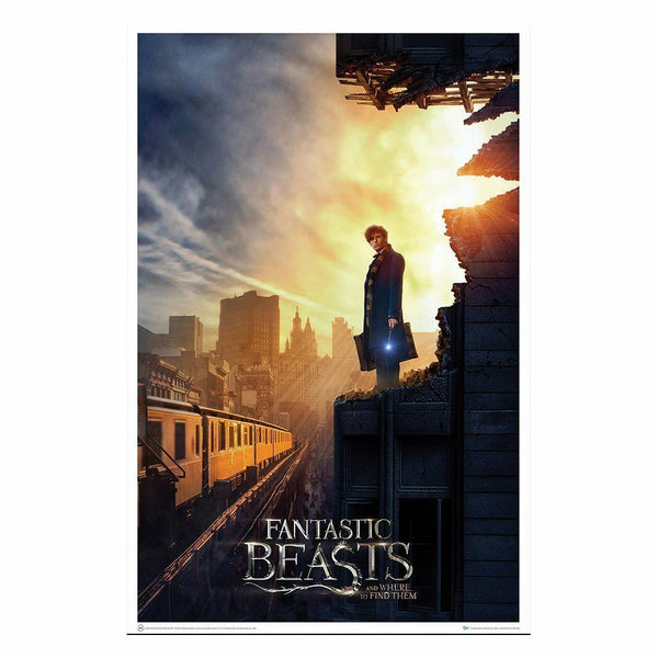 Fantastic Beasts and Where to Find Them Amid The Rubble Art Print Poster