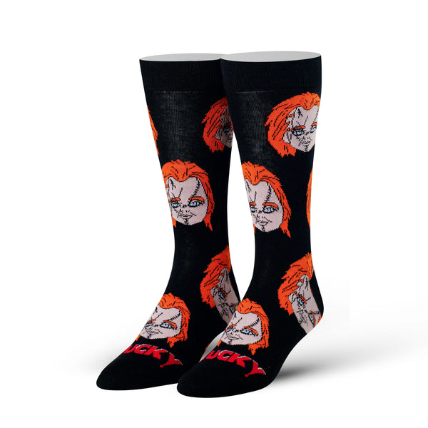 Chucky Heads Crew Socks