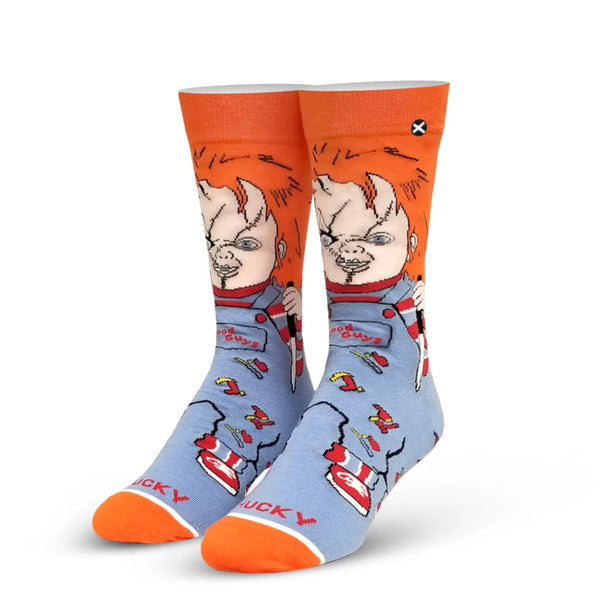 Chucky Good Guy Men's Crew Socks
