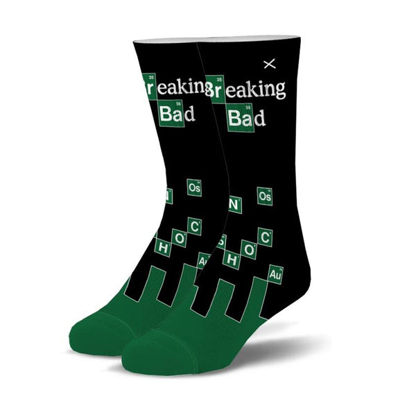 Breaking Bad Chemistry Men's Crew Socks