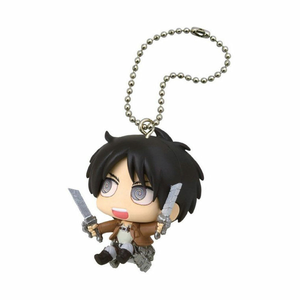 Attack on Titan Chimi Chara Mascot Figure Keychain 2 - Eren Yeager