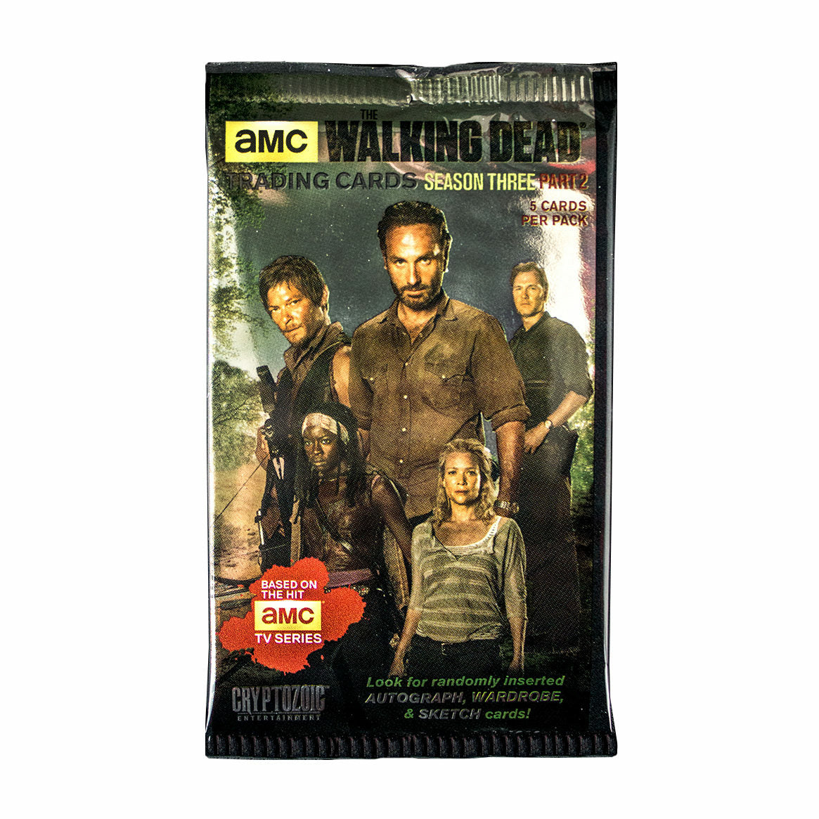 The Walking Dead Season 3 Part 2 Trading Cards (1 Random)
