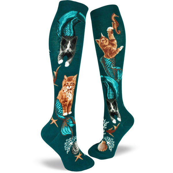 Purrmaids Knee High Socks
