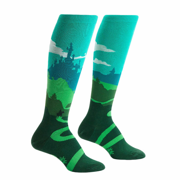 Sock It to Me Yonder Castle Womens Knee High Socks