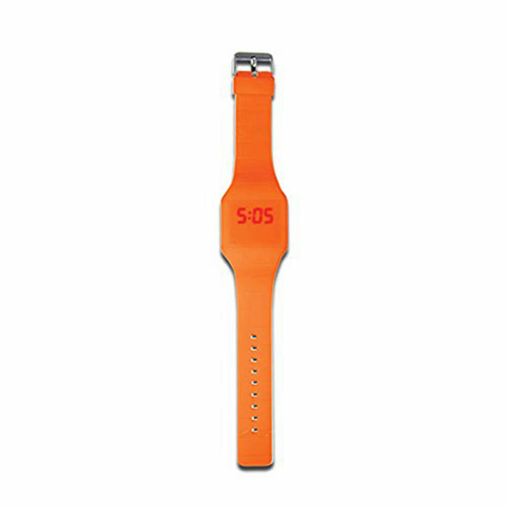 DCI On Time LED Watch - Orange