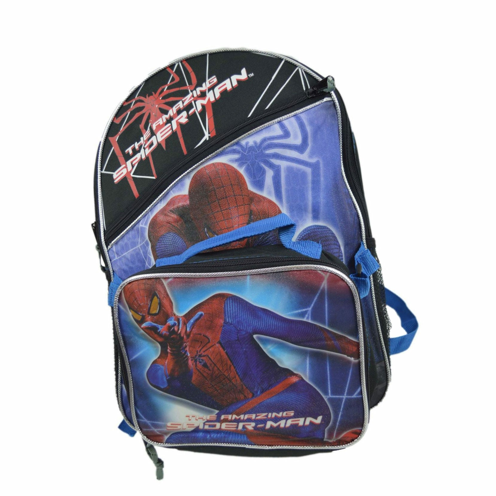 Marvel The Amazing Spider-Man Backpack with Detachable Lunch Bag