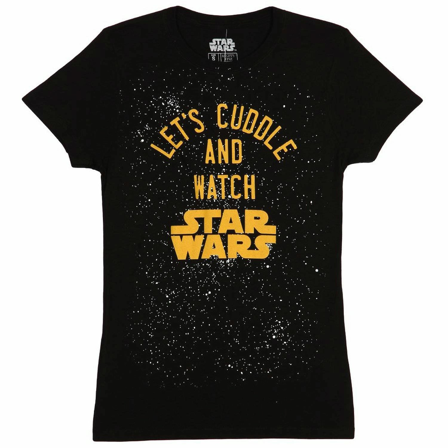 Star Wars Lets Cuddle & Watch Juniors T-Shirt