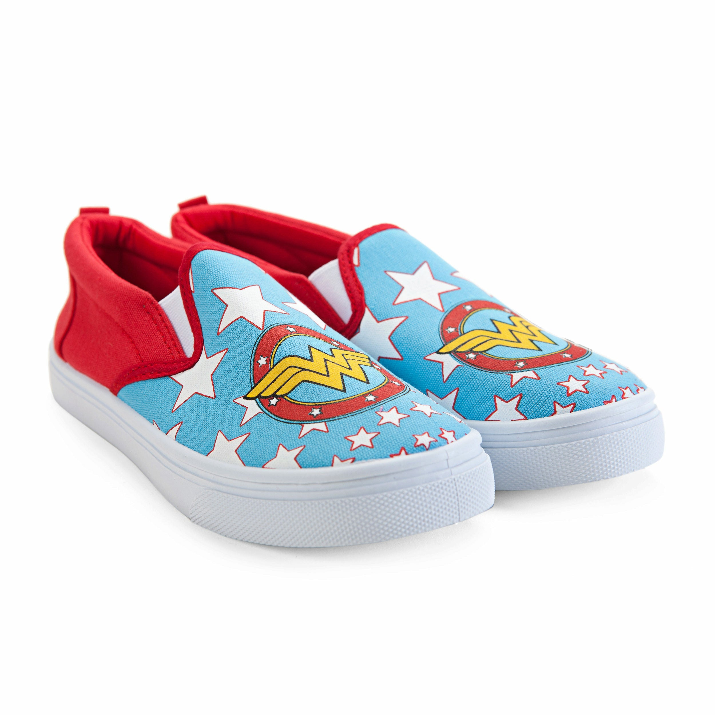 DC Comics Wonder Woman Slip On Shoes