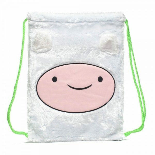 Adventure Time Finn Unisex White Cinch Bag