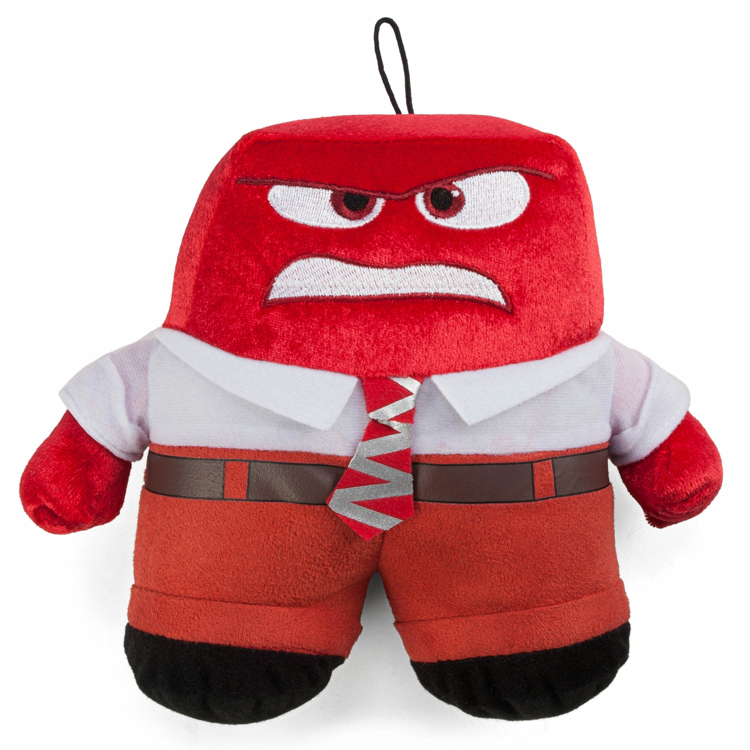 Inside Out Anger Plush Coin Purse