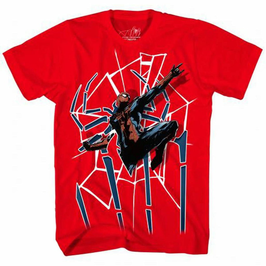Amazing Spider-Man Spider Door Red T-Shirt | M