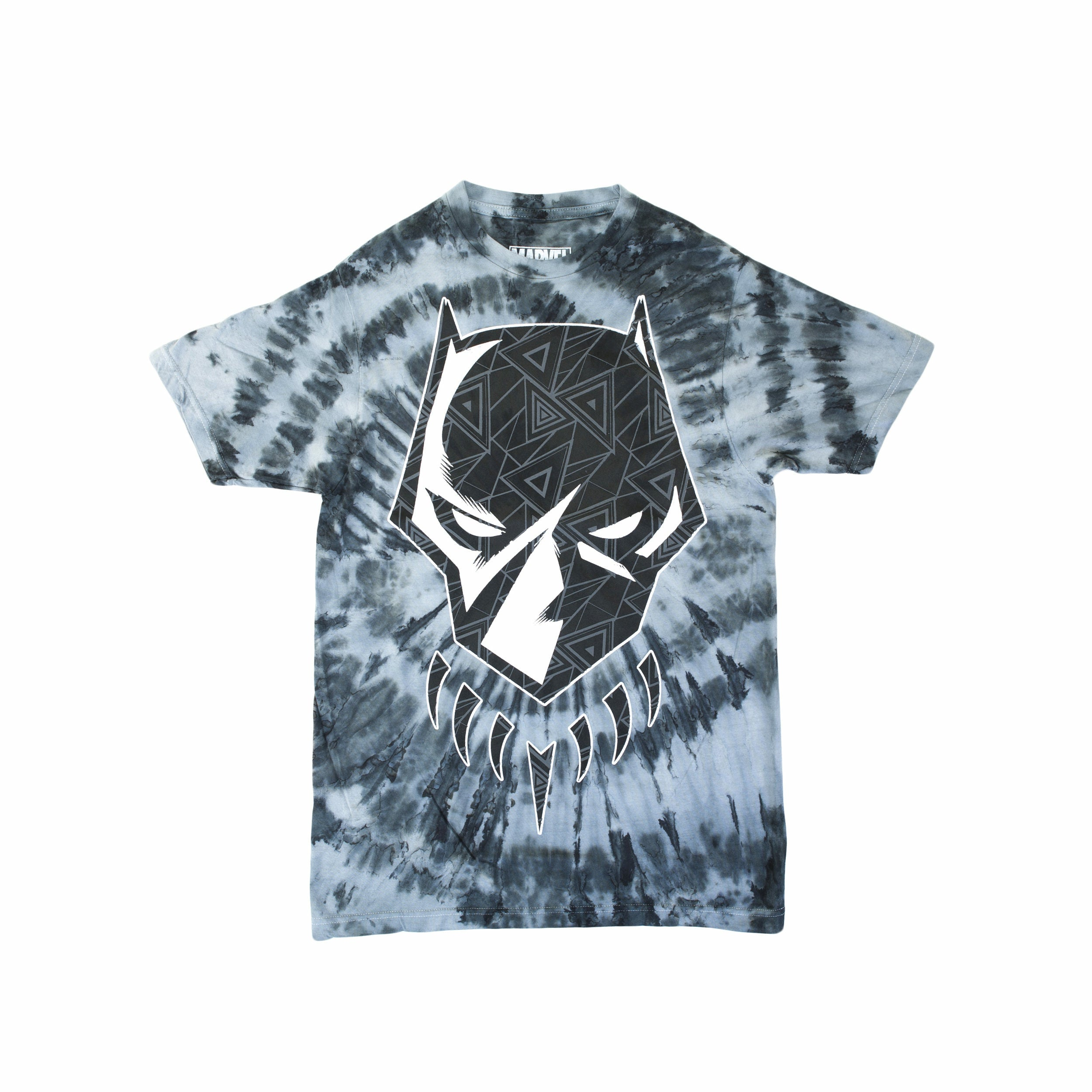 Marvel Black Panther Tribal Panther Head 1 Graphic T-Shirt