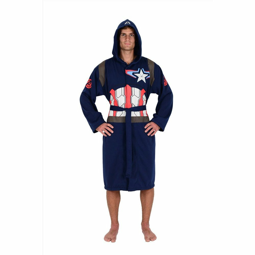 Marvel Avengers: Age of Ultron Captain America Hooded Robe