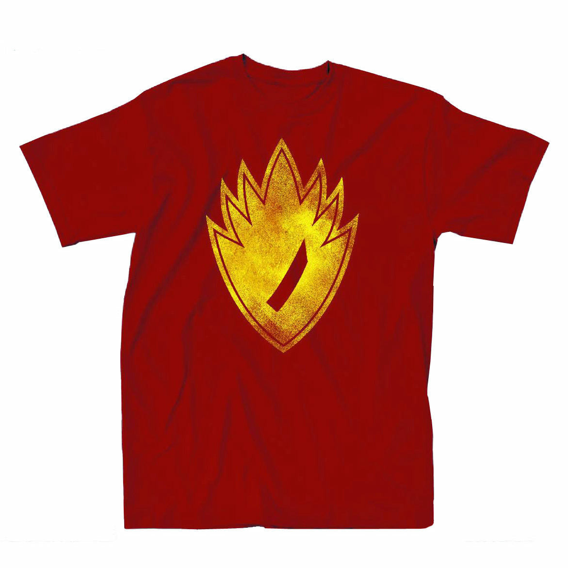 Guardians Of The Galaxy Neon Symbol Mens Red T-Shirt