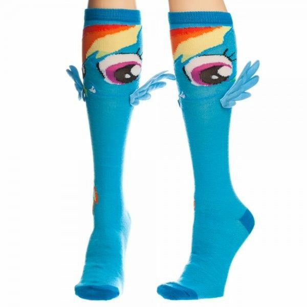 My Little Pony Rainbow Dash Knee High Socks with Wings